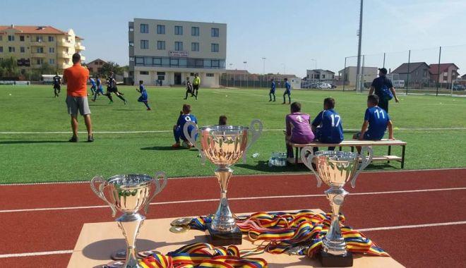 Foto: Turneu de fotbal pentru juniori, la Cumpăna