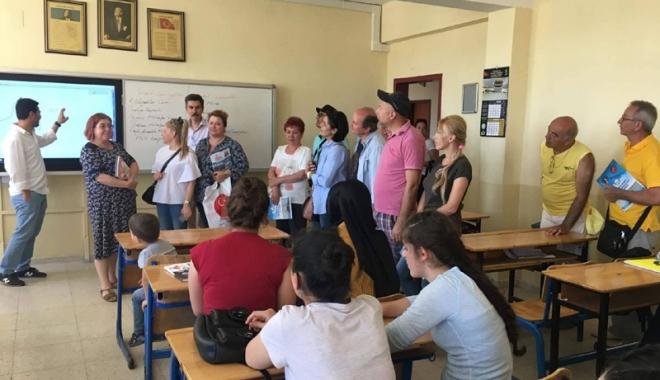 Foto: UDTR, proiecte educaționale cu școli din Turcia