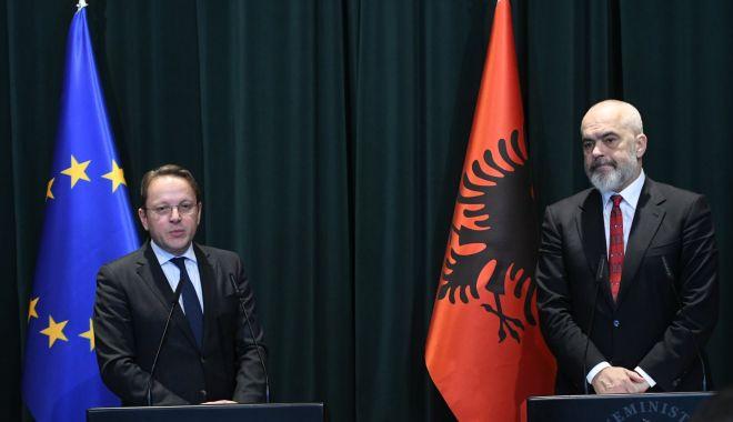 Foto: UE anunță principii noi pentru continuarea extinderii către șase state balcanice