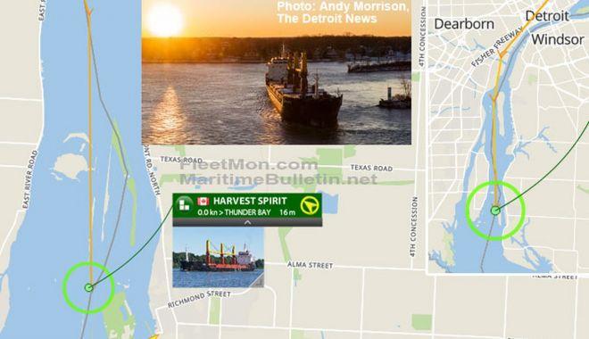 Un cargou a blocat navigația pe Canalul Livingstone - uncargouablocatnavigatiapecanalu-1607000740.jpg