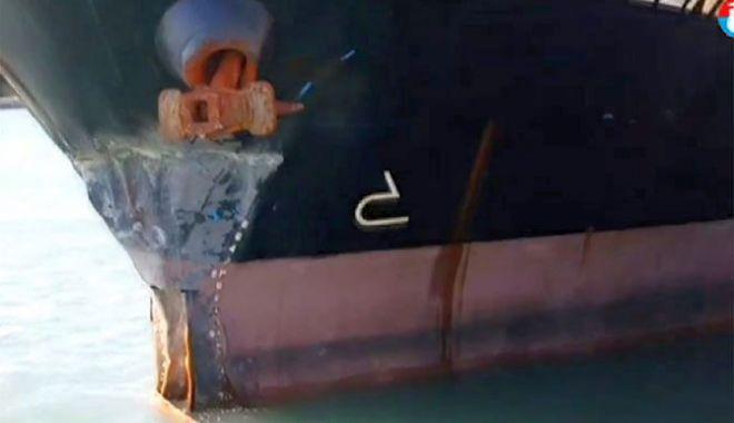 Un cargou a lovit cheul la acostare, fiind grav avariat - uncargoualovitcheullaacostare-1605186272.jpg