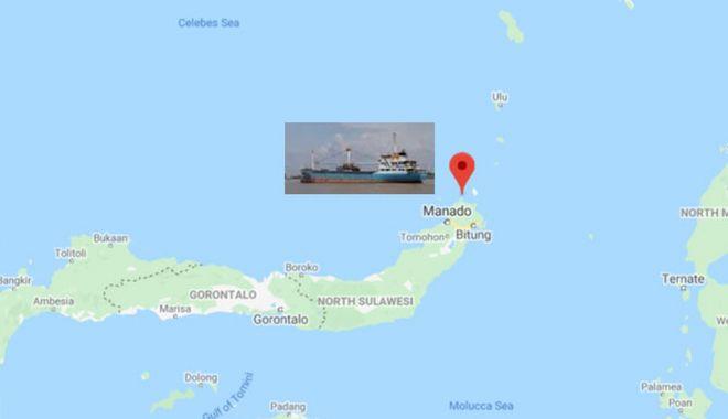 Un cargou s-a scufundat în apele indoneziene; echipajul - salvat - uncargousascufundatinapeleindone-1581004651.jpg
