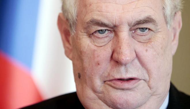 Foto: Uniunea Europeană, acuzată de lașitate! Poziția fermă a președintelui Cehiei