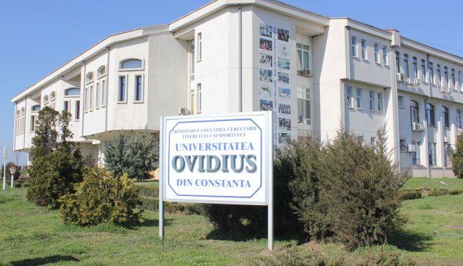 """Foto: Universitatea """"Ovidius"""" se confruntă cu primul caz de Covid 19"""