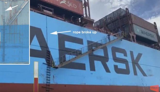 Foto: Pilotajul maritim - o meserie periculoasă