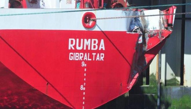 Un portcontainer norvegian s-a avariat la acostarea în Bremerhaven - unportcontainernorvegiansaavaria-1555330435.jpg