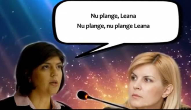 """Foto: RÂZI CU LACRIMI! """"Nu plânge Leana"""", cel mai nou """"hit"""" Koveși feat. Elena Udrea"""
