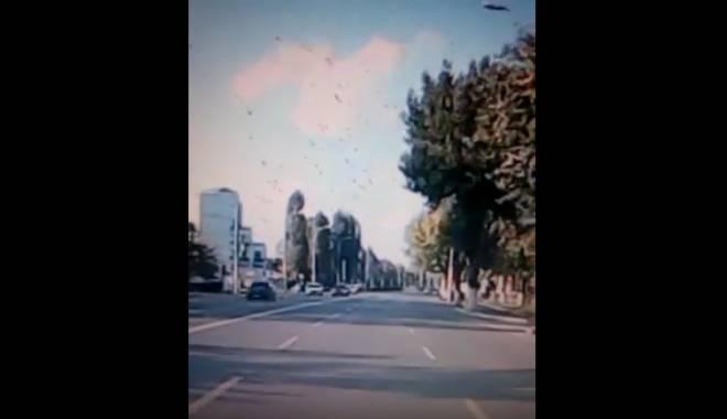 Foto: VIDEO INCREDIBIL. Grav accident rutier în Mamaia - Ultimele imagini dinaintea impactului