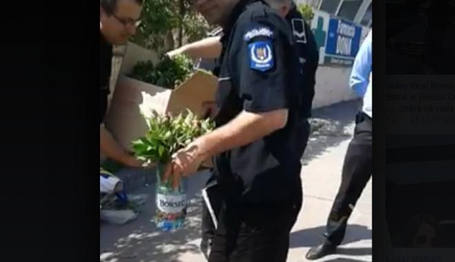 """Foto: """"Localii"""" din Constanța, făcuți praf de polițiști: """"Este necesar să reveniți la titulatura de gardieni publici"""" / VIDEO"""