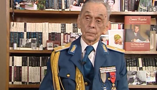 Foto: Sute de misiuni de război, zeci de lupte aeriene! Generalul-maior (rtr.) Ion Dobran împlinește 100 de ani