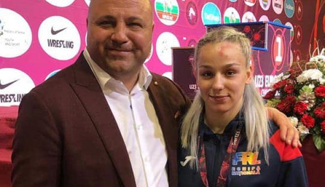 """Foto: Medalie de bronz pentru Andreea Ana, la """"europenele"""" U23"""