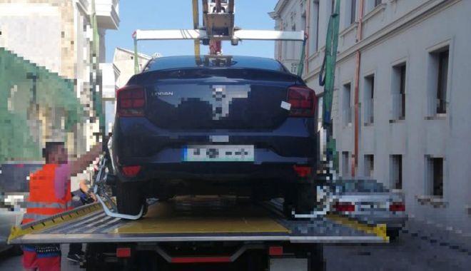 Foto: Atenție unde parcați! Mașinile constănțenilor, ridicate de polițiștii locali