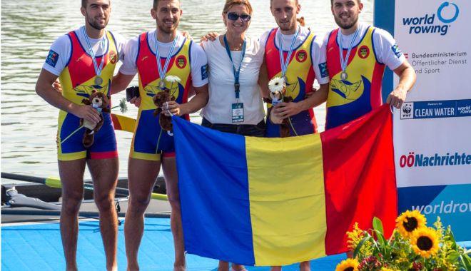 Foto: Performanțe pentru canotorii români, la Campionatul Mondial de Canotaj de la Linz