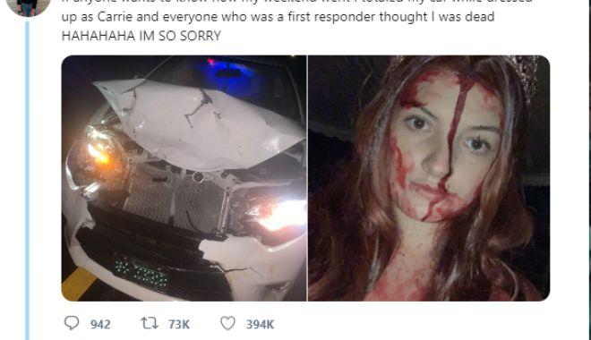 Tânără implicată într-un accident, declarată moartă din cauza machiajului de Halloween - untitled-1572530402.jpg
