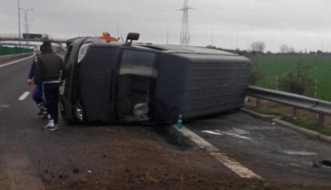 Șoferi, atenție! Accident pe Autostrada A2! - untitled-1574685064.jpg
