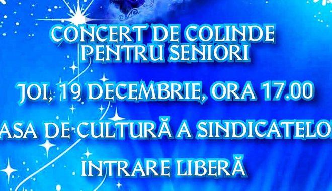 Foto: Concert de colinde pentru seniorii din Constanța