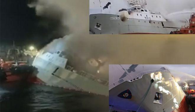 Un trauler britanic s-a scufundat după ce a pompierii au stins incendiul - untraulerbritanicsascufundat-1607067087.jpg