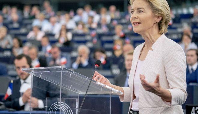 Foto: Ursula von der Leyen și-a prezentat noua echipă pentru Comisia Europeană