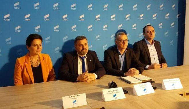 Alegătorii USR din Constanța, îndemnați să voteze cu Klaus Iohannis.