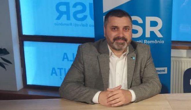 Foto: Remus Negoi, reales președinte al USR Constanța