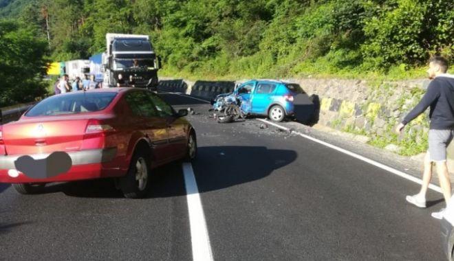 Foto: Accident grav pe Valea Oltului