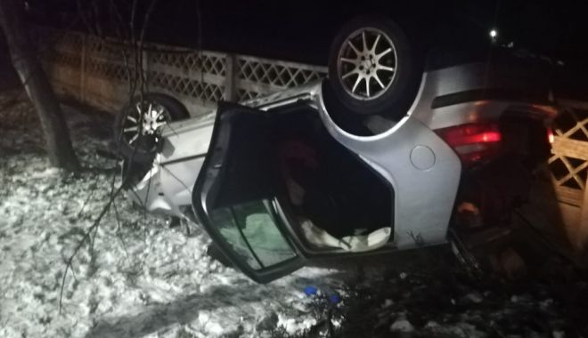 Foto: Accident mortal la ieșire din Constanța, spre Valu lui Traian