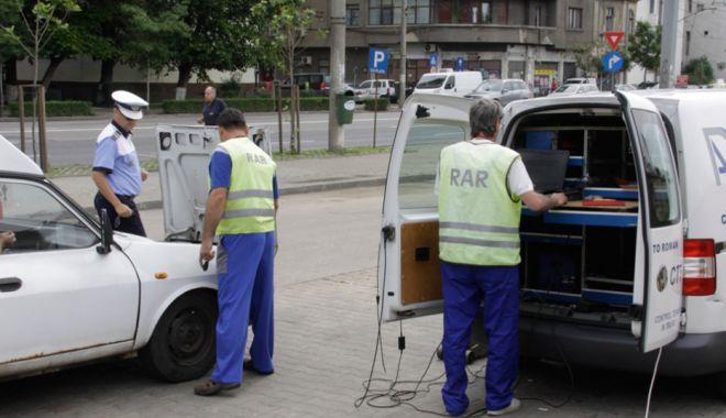 Foto: Razie de amploare în Constanța: sute de șoferi au fost amendați!