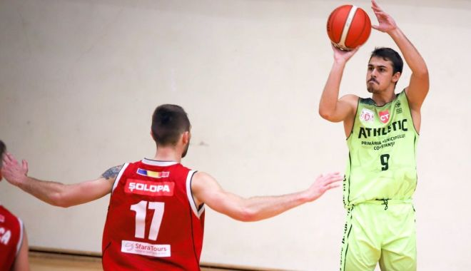 Foto: Victor Dudaș rămâne la BC Athletic Constanța