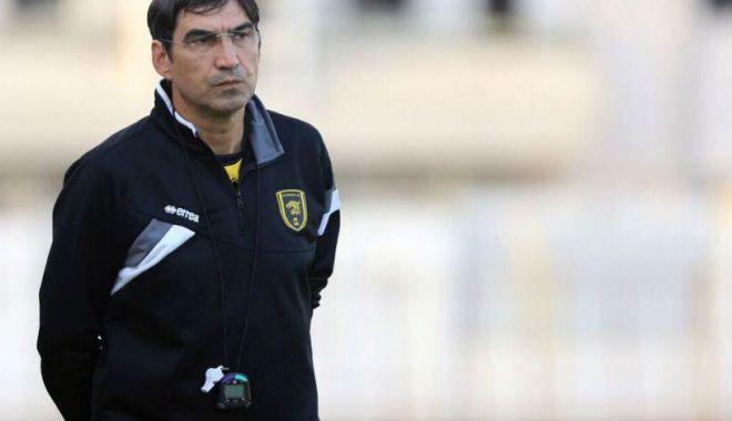 """Foto: Victor Pițurcă, prima declarație după ce a venit la U Craiova: """"Obiectivul meu, câștigarea campionatului"""""""