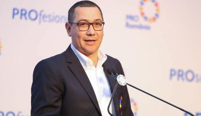 Foto: Victor Ponta a anunțat că Pro România va vota moțiunea de cenzură