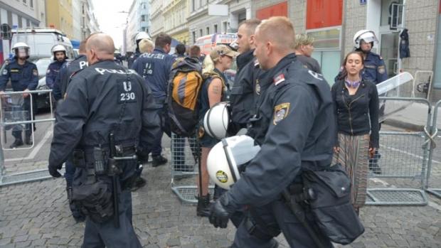 Foto: Atentat dejucat la Viena, după informații furnizate de servicii străine