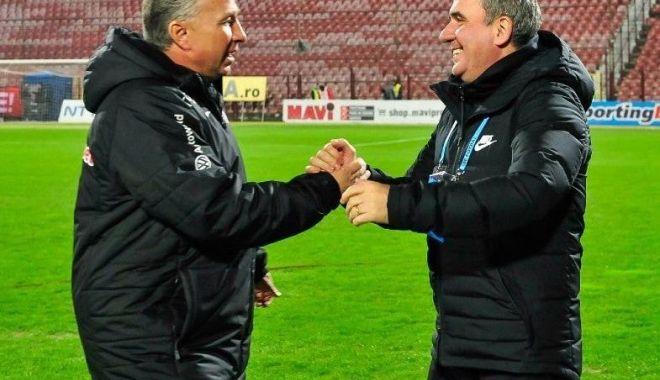 Foto: FC Viitorul, punct mare la Cluj. Echipa lui Hagi, emoții pentru play-off