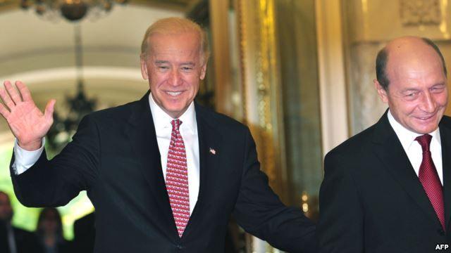 Foto: Vicepreședintele SUA, Joseph Biden, vine în România
