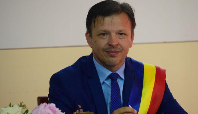 Primarul Viorel Ionescu, de la Hârșova: