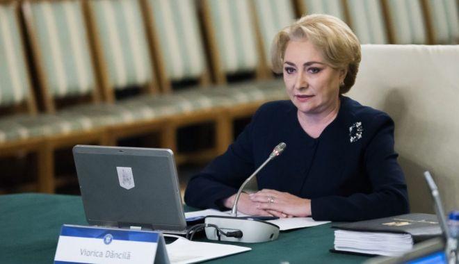 """Foto: Viorica Dăncilă: """"Anul acesta, acordăm o atenție deosebită investițiilor"""""""