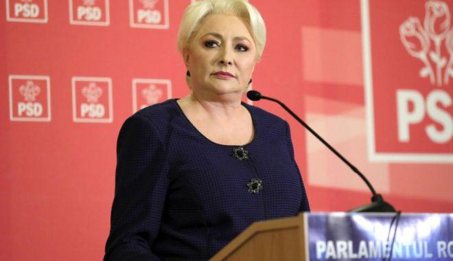 Foto: Viorica Dăncilă vine la Constanța pentru a se întâlni cu alegătorii
