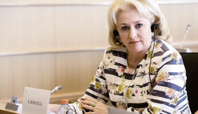 """Foto: Premierul Viorica Dăncilă: """"Legea pensiilor va fi adoptată până la sfârșitul anului"""""""