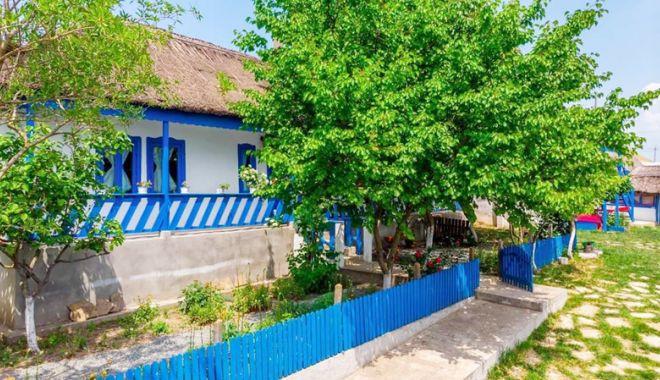 Foto: Casa de la Vișina păstrează între pereții săi memoria satului dobrogean