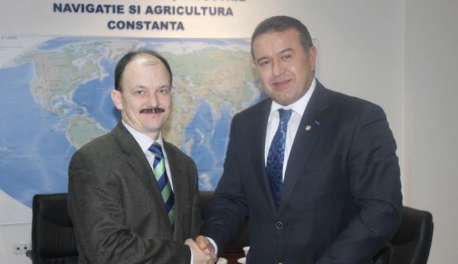 Foto: Reprezentant al Ambasadei Republicii Belarus în România, în vizită la Camera de Comerț Constanța