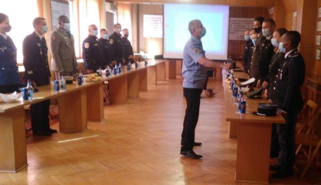 Legitimații de veterani pentru jandarmii care au fost în teatrele de operații - vizitajandarmisursagmjtomis2-1601578284.jpg