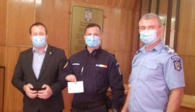 Legitimații de veterani pentru jandarmii care au fost în teatrele de operații - vizitaprintjandarmisursagmjtomis-1601578237.jpg