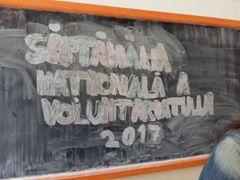 Galerie foto. Voluntar eco în școala mea. Elevii de la Colegiul