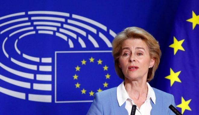 Foto: Von der Leyen promite acțiune climatică, taxarea giganților IT și un nou pact pe migrațiune