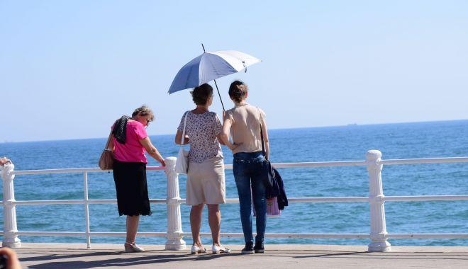 Foto: Soare și temperaturi plăcute, la Constanța