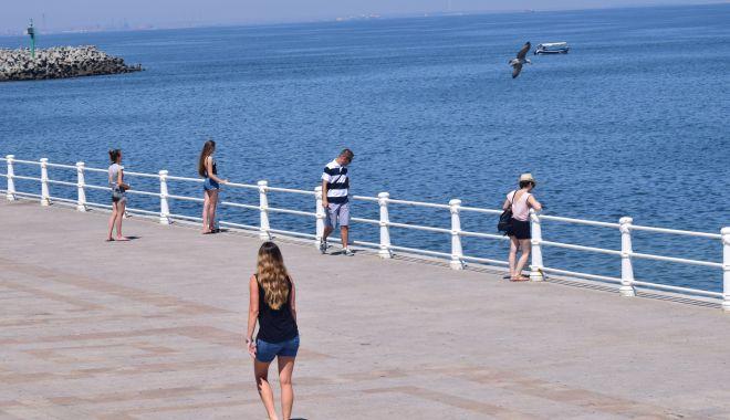 Foto: Vreme însorită și plăcută, pe litoral