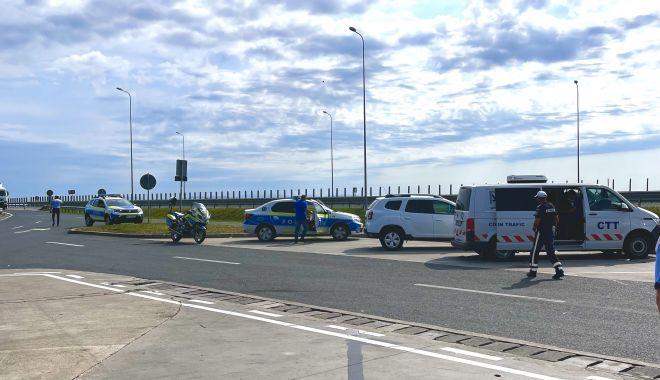 Razii pe autostrăzi. Polițiștii au dat zeci de amenzi, multe pentru viteza excesivă - xcontroale2-1628161601.jpg