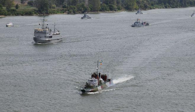 """Flotila fluvială """"Mihail Kogălniceanu"""", în exercițiu de antrenament pe Dunăre - xflotilafluviala-1632744493.jpg"""