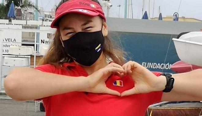 Foto: Barcă nouă pentru Ebru Bolat, cea mai valoroasă sportivă din yachtingul românesc