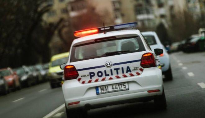 Foto: Focuri de armă pentru prinderea unor hoți, la Constanța!