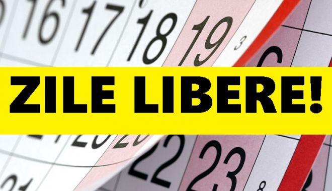 ZILE LIBERE 2018: Urmează o nouă minivacanță pentru români - zilelibere20181532850171-1536747339.jpg